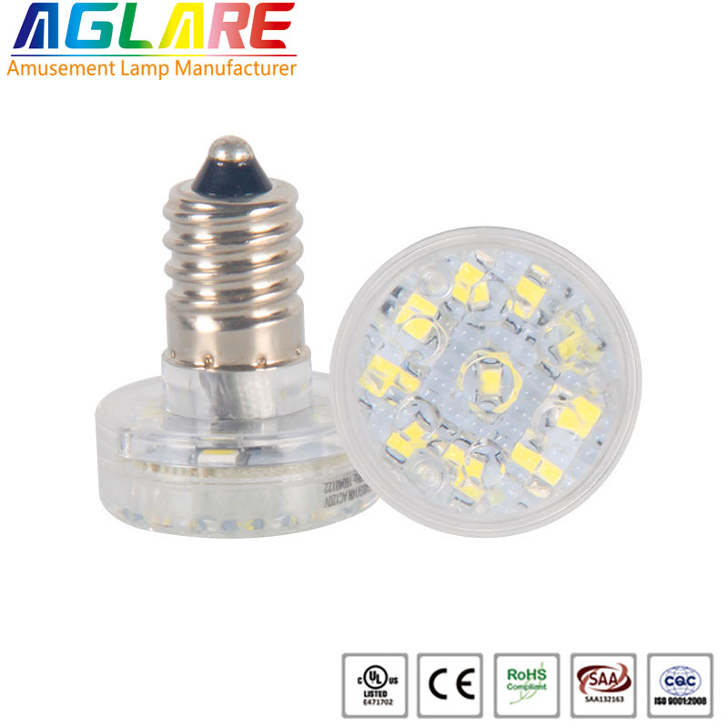 E14 single color 14 leds Amuse Park Lighting Ac60v...