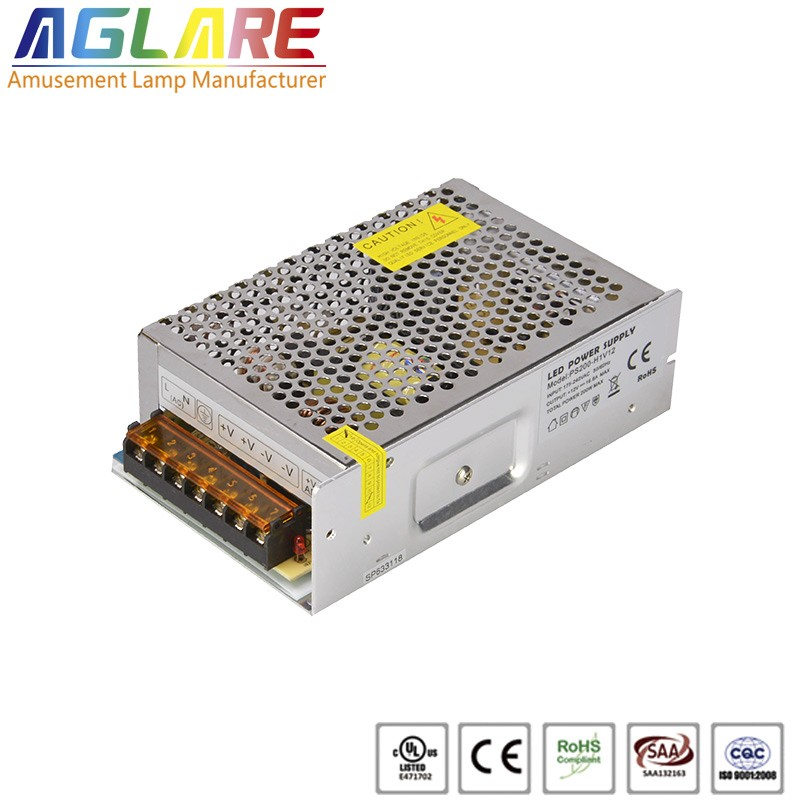 200W DC 12/24V 16.67A led switching power supply...