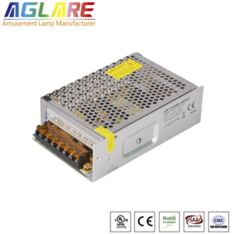 150W DC 12/24V 12.5A led switching power supply...