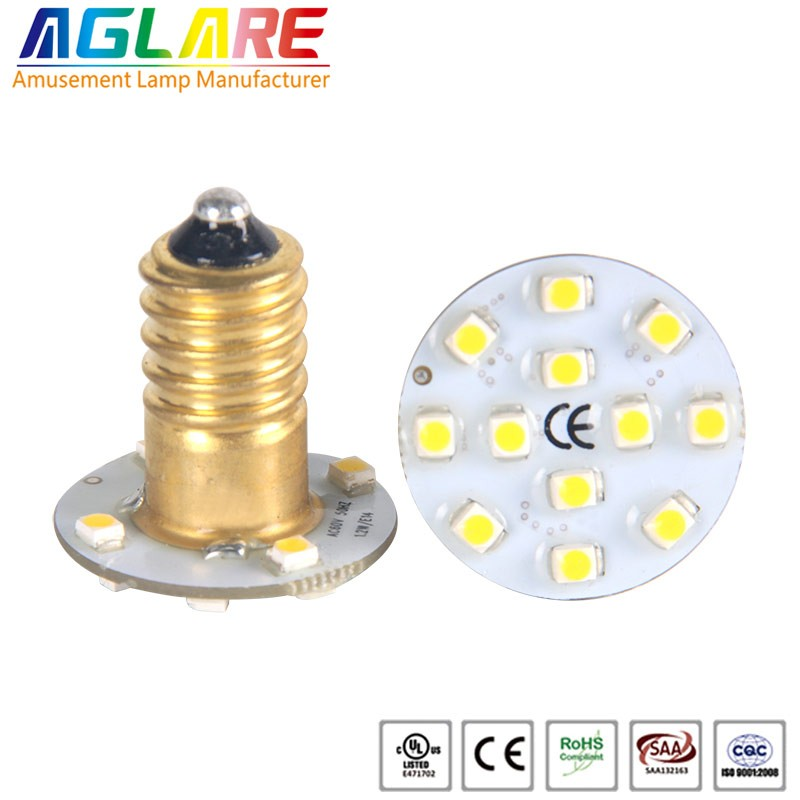 2016 hot selling led single color 3528 SMD E14 AC2...