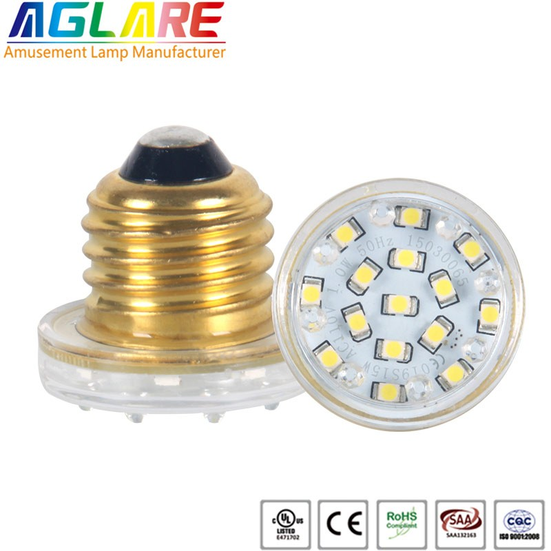 high quality e27 3528 smd cabochon led amusement l...