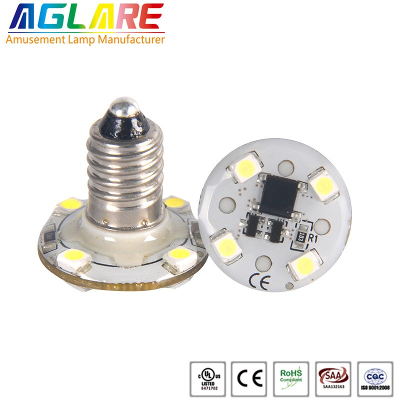 single color AC12V 24V E10 Led Amusement park Lamp...