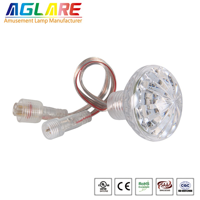 Waterproof dc24v 46mm 14pcs 5050smd led rgb funfair lights 061