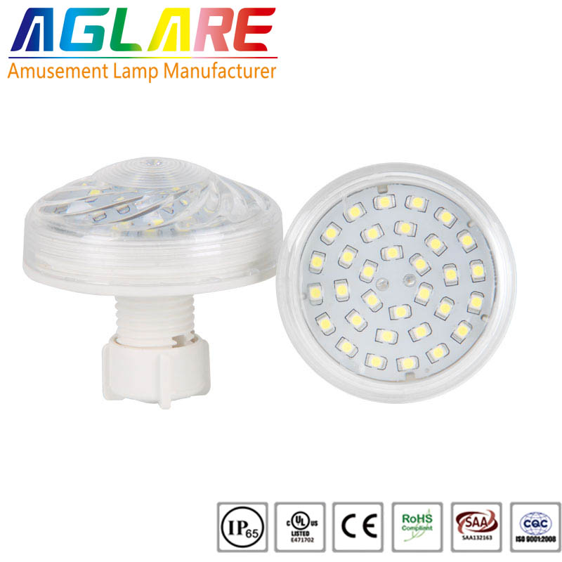 60mm R/G/B/W led amusement auto programme leds lig...