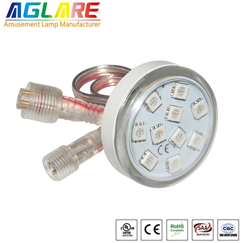 Waterproof dc24v 60mm 18pcs 5050smd rgb led pixel light 058