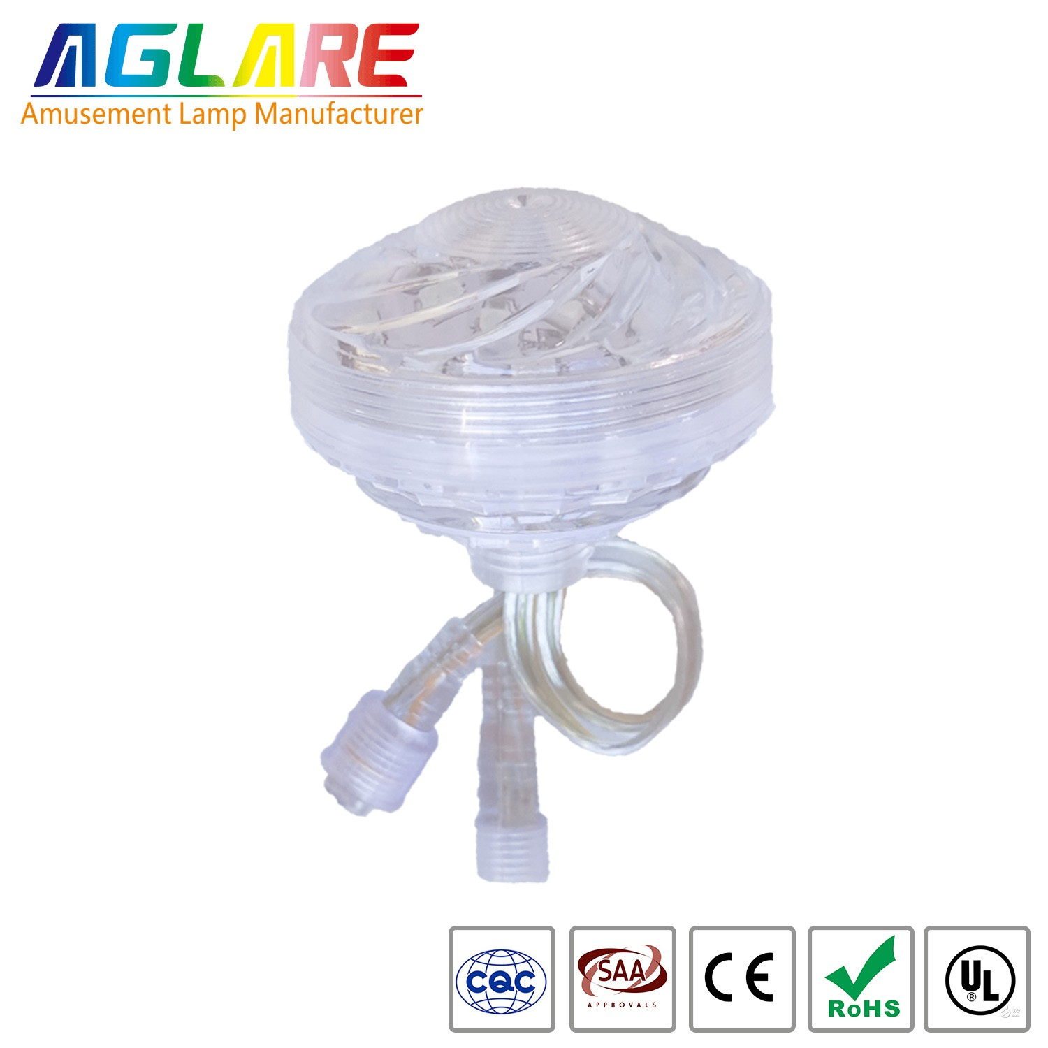 60mm Color Change RGB Amusement Led  light For Amu...
