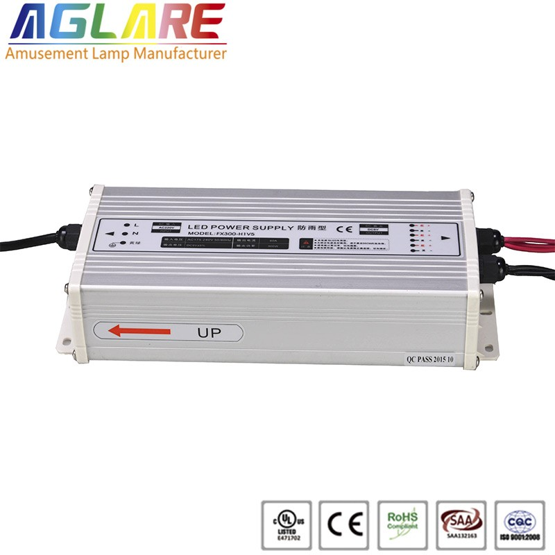 Hot sale IP44 300W AC 220v DC 5V 60A led switching power supply