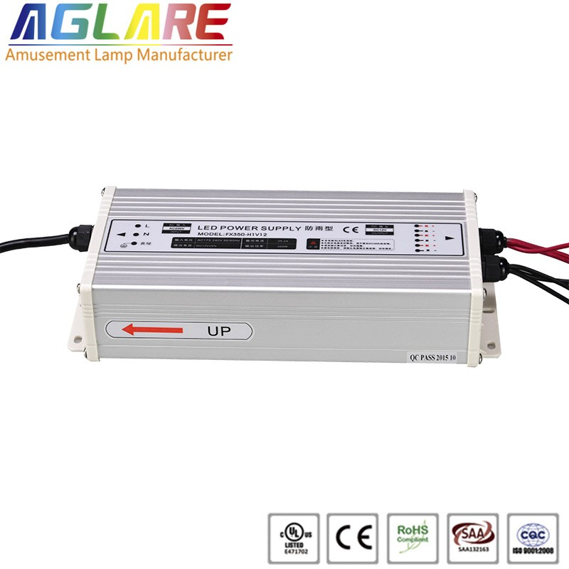 Hot sale IP44 350W AC 220v DC 12V 29.17A led switching power supply