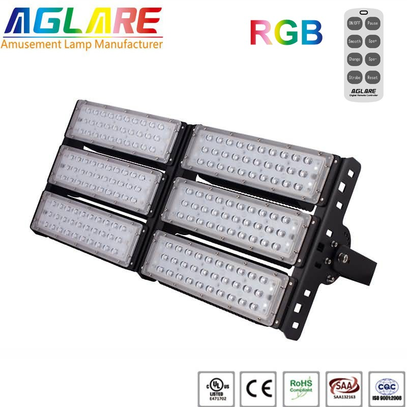 300w outdoor LED Projector RGB remote led floodlig...