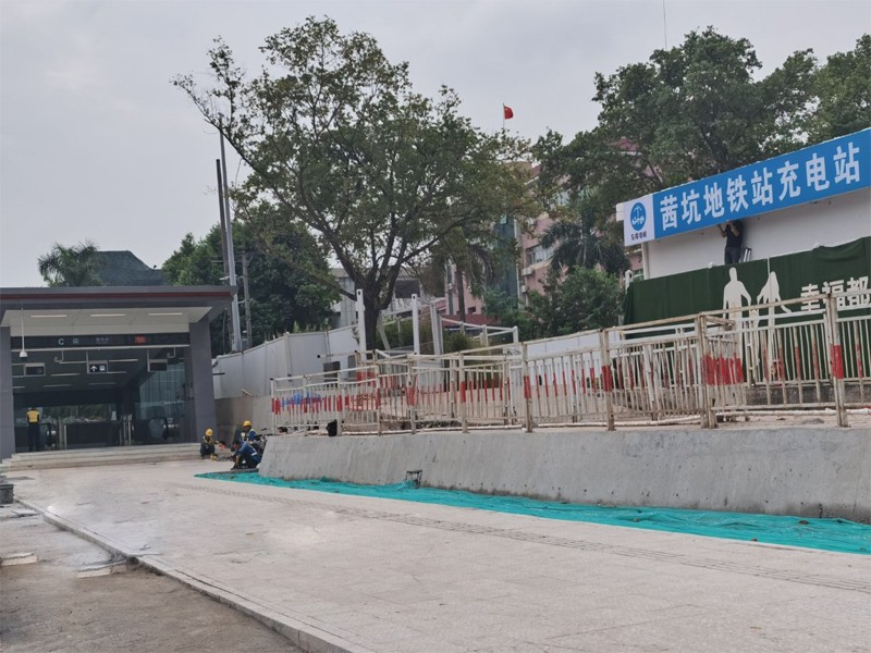 Shenzhen Metro Line 4 was officially started